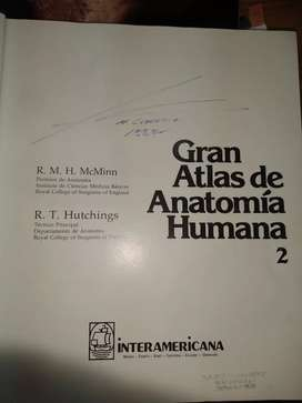 Gran Atlas de Anatomía Tomo 2 Mc Minn