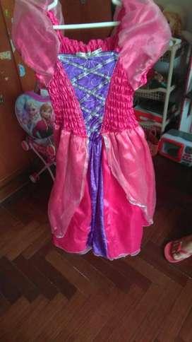 Lindos vestidos de princesas para niñas