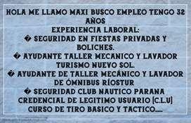 BUSCO EMPLEO CUALQUIER COSA