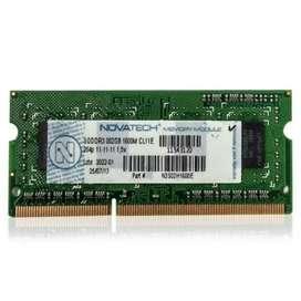 Memoria RAM DDR3 2GB (Para Netbooks)