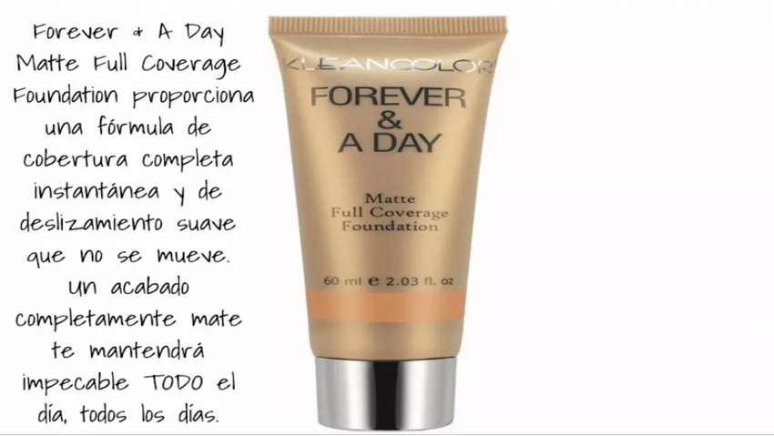 Base Cobertura total Kleancolor Forever & A Day 0