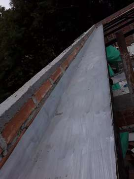 Costrucion acabados techos canoas terrazas mantenimiento