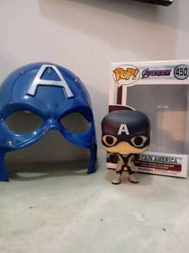 Capitan America + Mascara