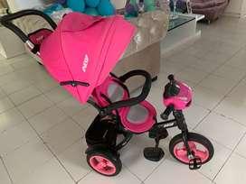 Hermoso triciclo marca Prinsel