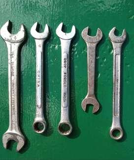 Lote de 5 llaves