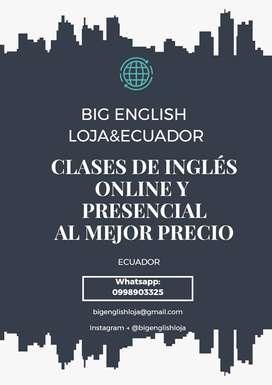 CLASES DE INGLES PARTICULARES BARATAS