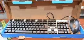 Kit de teclado y mouse retroiluminado