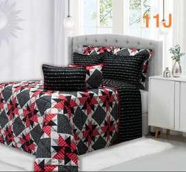 hermosos edredones cubrelecho para cama doble 220x240cm