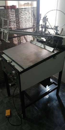 Impresora semi automática de serigrafia