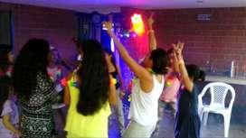 Party Kids Chiquitks Minitks Maquillaje Neón Hora Loca En Cali