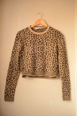 CHOMPA ANIMAL PRINT