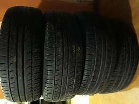 Neumaticos Pirelli 185 60 r14 usadas