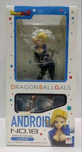 Figura Anime Dragon Ball Z Androide 18