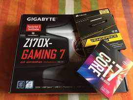 i7 6700k + gigabyte z170 gaming 7