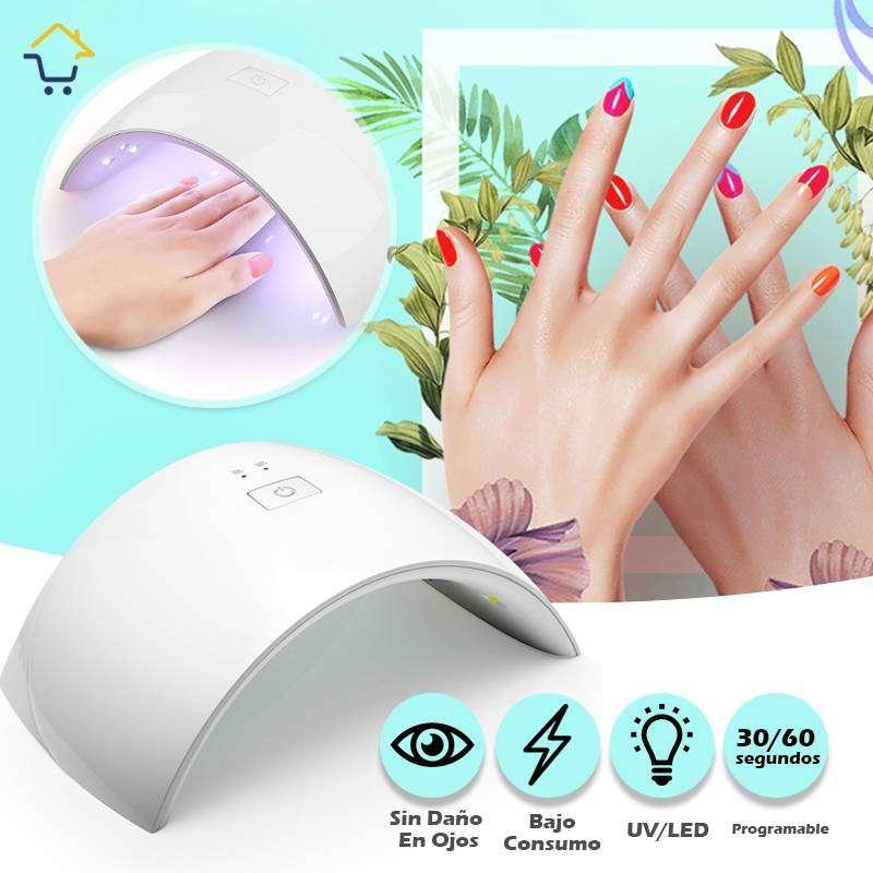 Secador Uñas Esmalte Gel UV LED Lámpara Uñas Con Sensor RF 9C