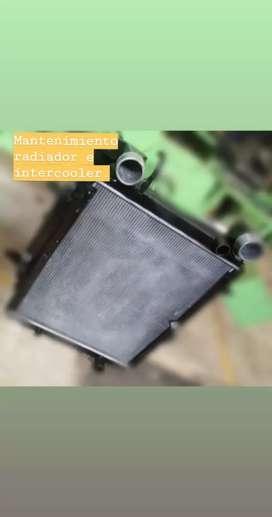 Fabricacion y reparación de Radiadores, enfriadores e intercoolers