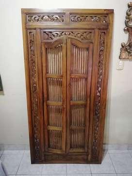 Espejo con puertas Origen India