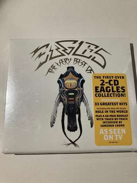 Eagkes the very best 2 cds nuevo