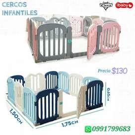 Cercos infantiles para Bebés