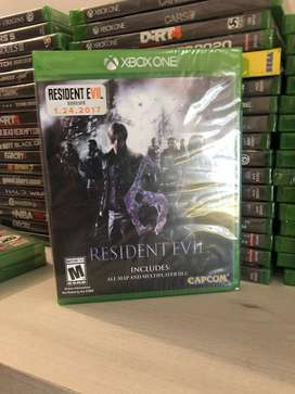 Resident Evil 6 Xbox One Juego Nuevo Fisico