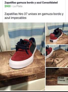 Zapatillas Unisex Consolidated Nro 37