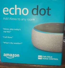 Alexa - Echo Dot - Asistente inteligente - Tercera Generación