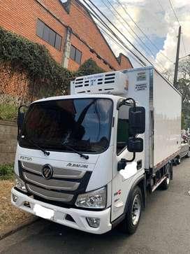 Camión Foton Bj1045 Furgón Congelación Mod2021