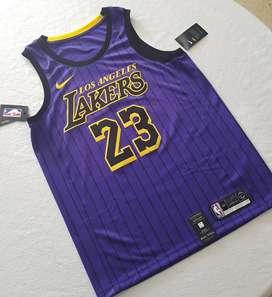 Camiseta LeBron James Original  Lakers, NBA.