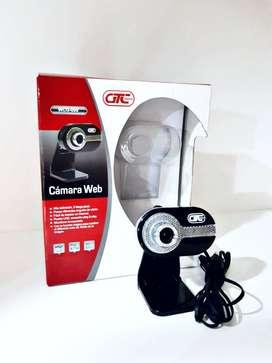 Webcam, Cámara Web Con Micrófono 2 Mega Pixel Usb - Xp, 7, 10 Mac.