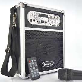 Parlante Portatil Alta Potencia Karaoke Cabina Con Microfono PAGA AL RECIBIR