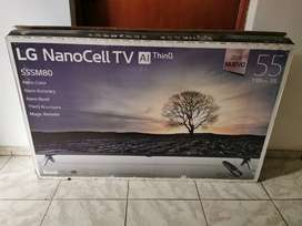 LG NanoCell 55SM80 4K Smart TV con AI