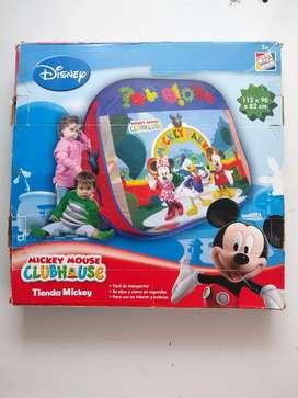 Carpa motivo Mickey mouse del club house