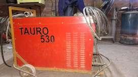 soldador rectificador de corriente trifasico 530 A, impecable