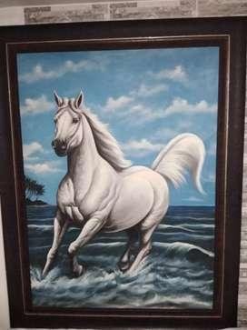 Cuadro de caballo hermoso