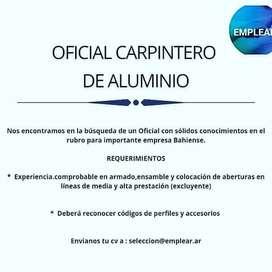 Oficial para carpinteria de aluminio