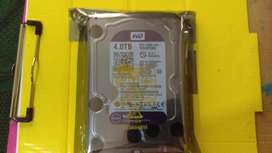 Disco Duro 4TB Wd Purpura Para Dvr/PC Video Vigilancia Nuevo