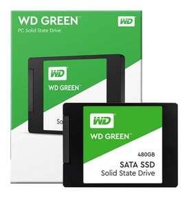Wd Ssd - Disco Solido Western Digital Green 480gb