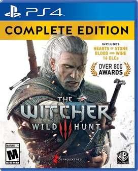 The Witcher 3 - Complete Edition Físico - Nuevo - Sellado
