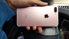 Iphone 7 plus rosado gold 32 gb