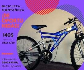 Bicicleta Montañera en Quito, excelente estado, ARO 26