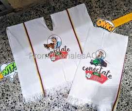 Ponchos Estampados Personalizados