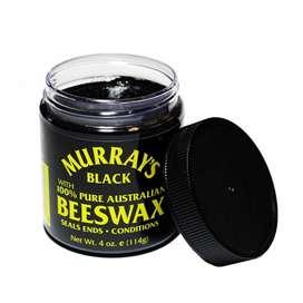 Cera Murrays Beeswax Black Cabello Negro Pomada Mate 4hz