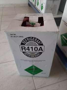 Venta de gas refrigerante R-410