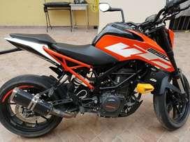 Cilindraje 250cc / año 2017 / KTM DUKE