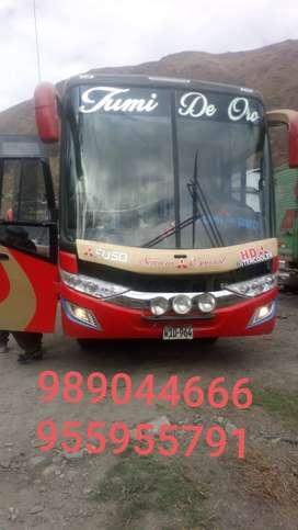 Vendo mi bus Mitsubishi de 33 psj año 2008