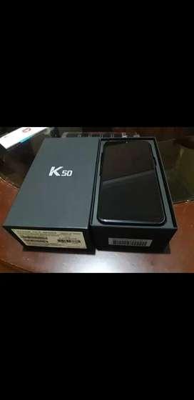 Celular Lg K50 en caja