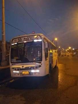 Vendo bus urbano linea 33 piso techo