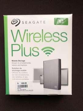 Disco duro inalámbrico wifi 1Tb. Seagate