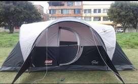 Camping coleman americano para 8 personas