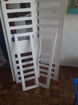 4 barandas de cama cuna
